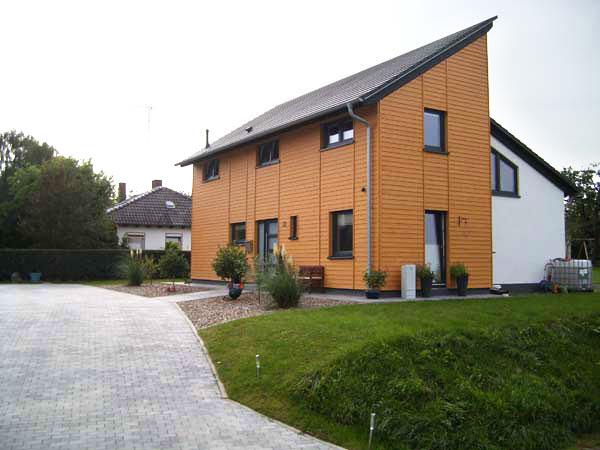 Haus Fassade Farbe 01 ...