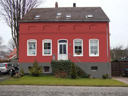 Fassadengestaltung farbe beispiele  GALERIE www.haus-farbe.de